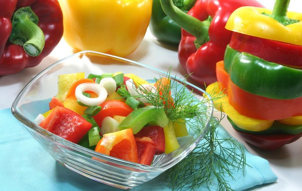 甜椒颜值营养双在线,维生素C的含量爆表